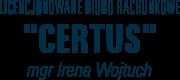 CERTUS - Licencjonowane Biuro Rachunkowe